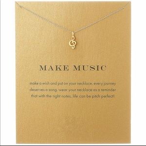 Jewelry - Music Note 🎶 Necklace